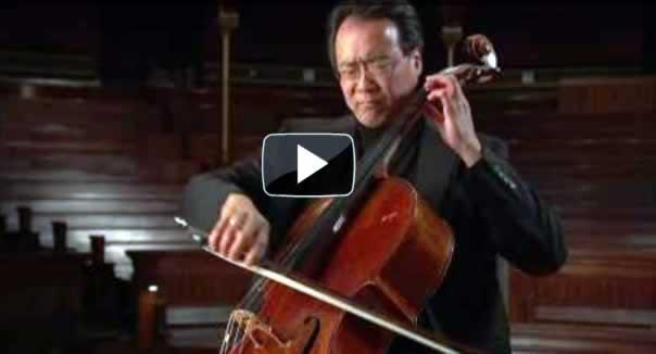 Suite no.1 para Cello: Preludio de J. S. Bach, con Yo Yo Ma